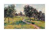 Apple Trees in Normandy Print by Jean-Baptiste-Armand Guillaumin