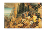 Conversion of St. Paul, Pieter Bruegel the Elder, 1567. Kunsthistorisches Museum, Vienna Art by Pieter Bruegel the Elder