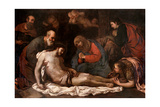Deposition Art by Luca Giordano