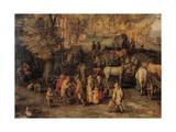 Village Giclee Print by  Jan Bruegel the Elder