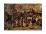 Village Posters by Jan Brueghel the Elder