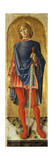 St. Sebastian, from Polyptych with St. Ambrose Blessing Print by Bartolomeo Vivarini