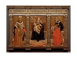 Assiano Triptych Art by Marco Lombardi