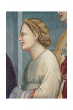 Life of Joachim, Woman with Braided Hair Prints by  Giotto di Bondone