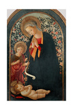 Madonna with Child and Young St John Poster by Filippo Lippi