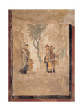Love Punished (Loves of Mars and Venus), Roman Painting, 1st c. Naples, Italy Prints