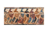Mural from Tomb 11, from Ruvo, Italy, 4th c. B.C. National Archaeological Museum, Naples, Italy Art