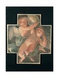 Putti carrying Mitre Poster von Guido Reni
