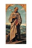 St. Francis Print by Moretto Da Brescia
