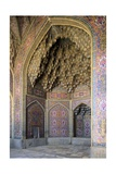 Mosque of Nasir al Molk, 1876-1887, Shiraz, Iran. Art