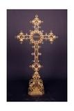 Reliquary Cross Poster by Bernardo Holzmann
