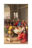 Den sidste nadver Plakater af Titian (Tiziano Vecelli)