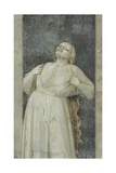 Virtues and Vices, Wrath Print by  Giotto di Bondone