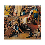 Garden of Earthly Delights-Hell Music Premium giclée print van Hieronymus Bosch