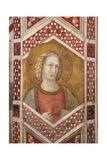 Prophet, detail of Friezes Print by Pietro Lorenzetti