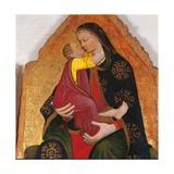 St Christopher Giclée-tryk af Domenico Beccafumi