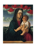 Madonna of the Red Cherubs Posters by Giovanni Bellini