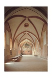Refectory, 12th c. Chiaravalle Abbey , Milan, Italy Posters