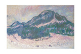 Mount Kolsaas in Norway Prints by Claude Monet