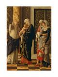Uffizi Triptych. Circumcision Prints by Andrea Mantegna