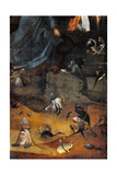 Hermit Saints Triptych, Detail Posters by Hieronymus Bosch
