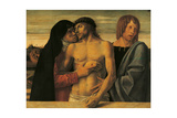 Pieta Print by Giovanni Bellini