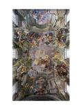 Glory of St. Ignatius Plakat af Andrea Pozzo