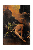 Blessed and the Damned Souls, Hell Posters by Hieronymus Bosch
