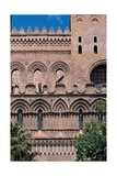 Cathedral of the Assunta, exterior, 1179-1185. Palermo, Italy Poster
