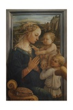 Madonna with Child and Two Angels Prints by Filippo Lippi