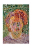 Portrait of a Woman Print by Umberto Boccioni