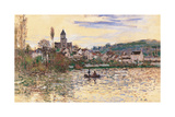 Seine at Vetheuil Prints by Claude Monet