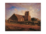 Church of Greville Art by Jean-François Millet