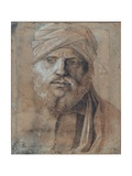 Man with Turban Giclee Print by Giovanni Bellini