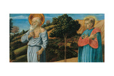 St. Jerome and a Monk Plakater af Benozzo Gozzoli