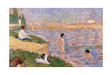 Study for Bathers at Asnires Art by Georges Seurat