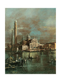 Bacino di San Marco with San Giorgio and the Giudecca Prints by Francesco Guardi