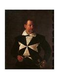 Portrait of Alof de Wignacourt Print by  Caravaggio