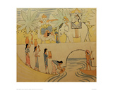 Design for a Tapestry Fairy Tale Giclee Print by Auguste Macke