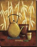 Bamboo Tea Room I Reproduction sur toile tendue par Krista Sewell