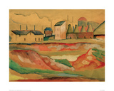Factory Giclee Print by Auguste Macke