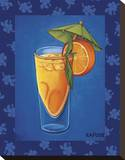 Tropical Cocktail III Stretched Canvas Print by Will Rafuse