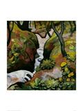 Forest Brook Giclée-tryk af Auguste Macke