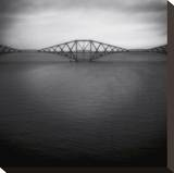 Forth Rail Bridge II Stretched Canvas Print by Jamie Cook