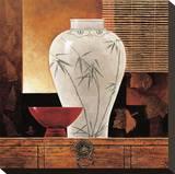 Dynastie n°1 Reproduction transférée sur toile par Keith Mallett