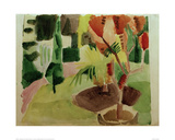 Our Garden by the Lake 2 Giclee Print by Auguste Macke