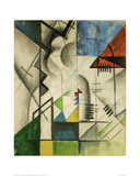 Forms 1913 Giclee Print by Auguste Macke