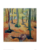 Forest Landscape I Giclee Print by Auguste Macke