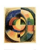 Colour Circle II (large) Giclee Print by Auguste Macke