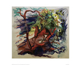 Rider in the Forest Giclee Print by Auguste Macke